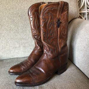 Brown Lucchese Boots